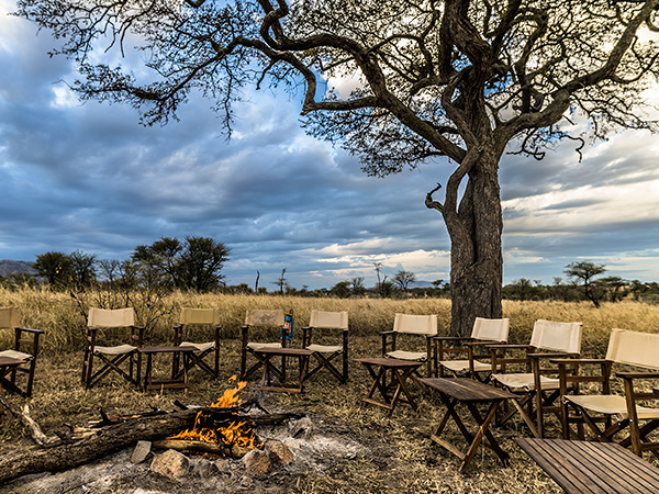 Book a tent at serengeti